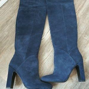 Aldo suede thigh high boots